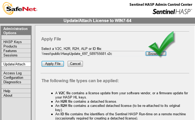 HASP key: Руководство пользователя для ОС Windows — VIT company